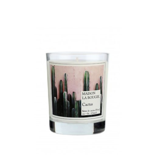 Cactus Scented Candle by Maison La Bougie | Available at Osmology