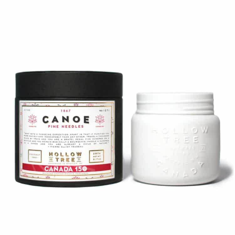 Canoe Scented Candle by Hollow Tree