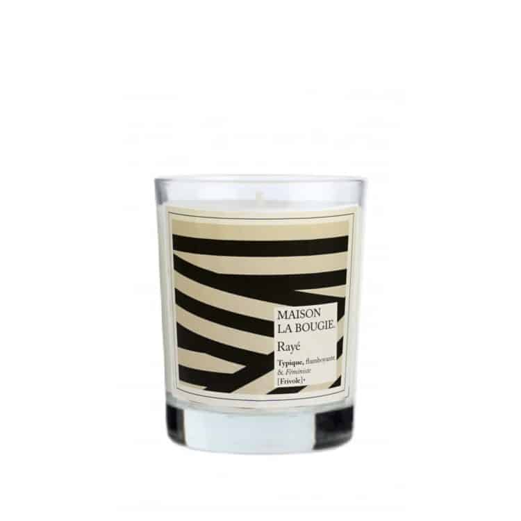 Rayé Scented Candle by Maison La Bougie | Available at Osmology