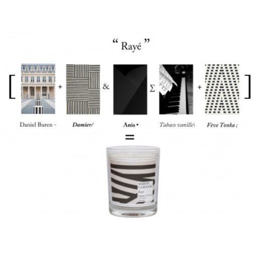 Raye Scented Candle by Maison La Bougie