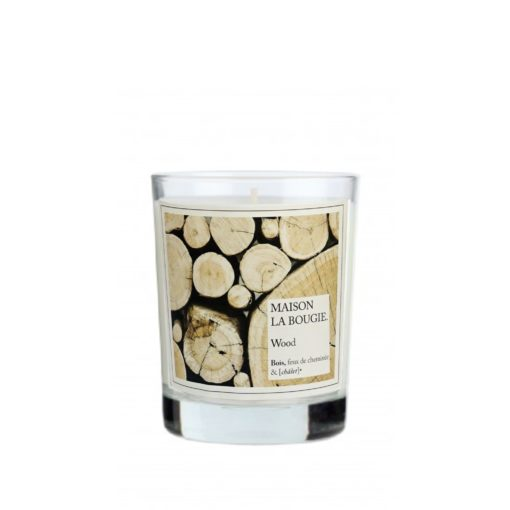 Wood Scented Candle by Maison La Bougie | Available at Osmology