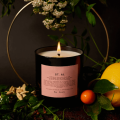 St. Al Scented Candle by Boy Smells