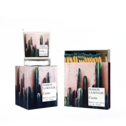 Cactus Candle & Matches Set by Maison La Bougie | Available at Osmology