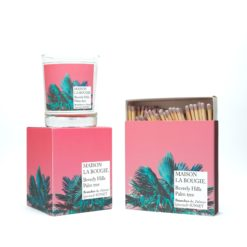 Beverly Hills Palm Tree Candle & Matches Set by Maison La Bougie | Available at Osmology