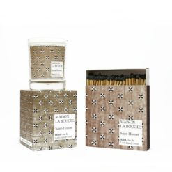 Saint Honoré Candle & Matches Set by Maison La Bougie | Available at Osmology