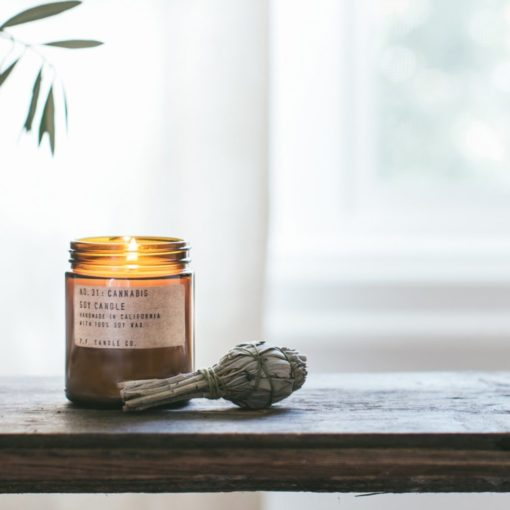 No.31 Cannabis Scented Candle by P.F. Candle Co