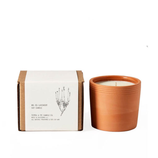 No. 03 Lavender Terra Candle by P.F. Candle Co.