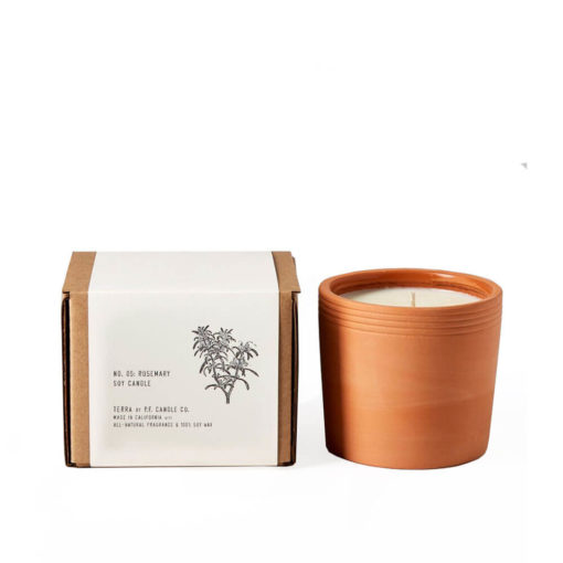 No. 05 Rosemary Terra Candle by P.F. Candle Co.