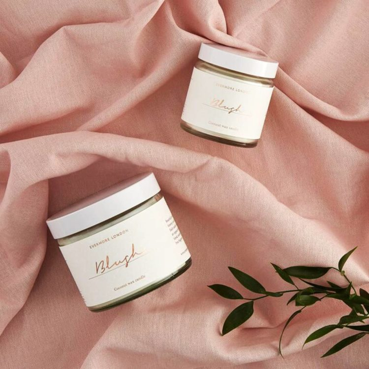 Blush Scented Candle by Evermore