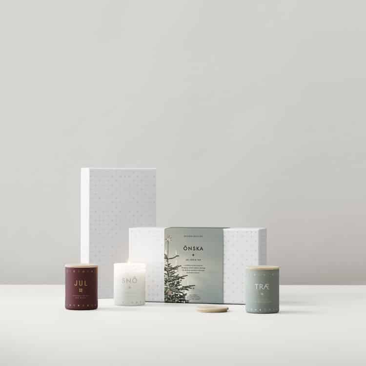 ÖNSKA SCENTED CANDLE GIFT SET