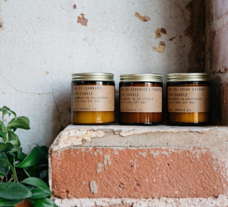 Vice Scented Candle Set by P.F. Candle Co