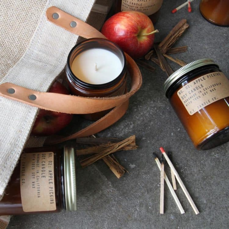 No.02 Apple Picking Scented Candle by P.F. Candle Co