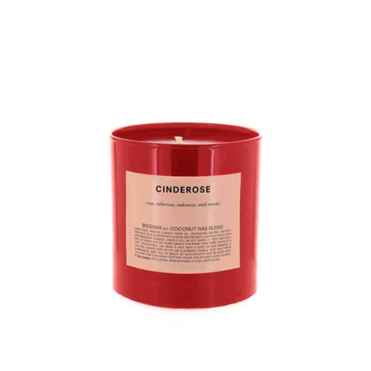 Holiday Cinderose Scented Candle by Boy Smells
