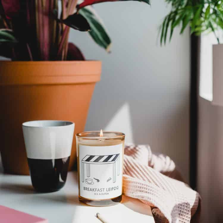 Breakfast Leipzig Scented Candle by D.S. & DURGA