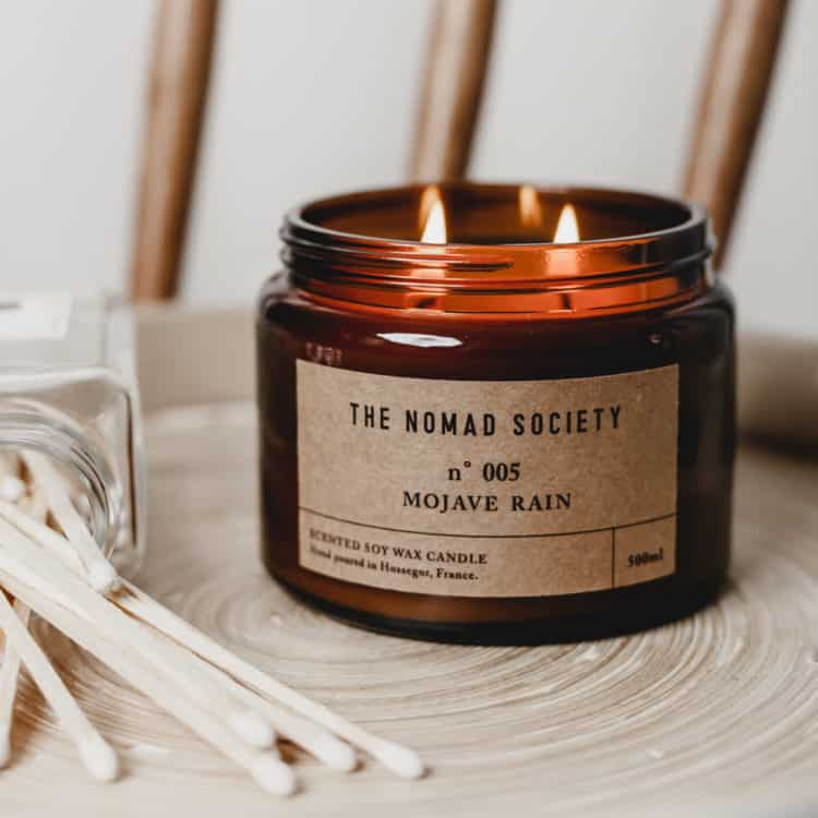 The Nomad Society Scented Candle