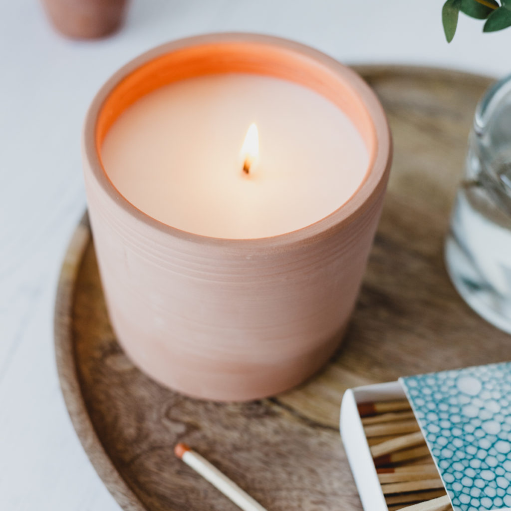 Geranium Terra Candle by P.F. Candle Co