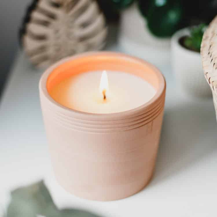 Olive Terra Candle by P.F. Candle Co