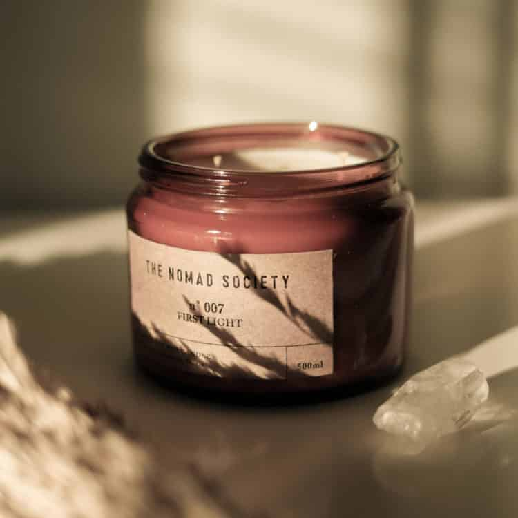 First Light Scented Candle by The Nomad Society