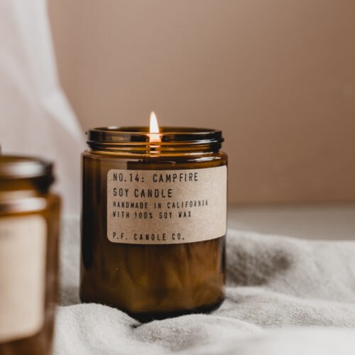 No.14 Campfire Scented Candle by P.F. Candle Co.