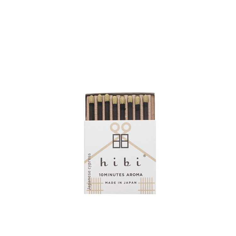 Japanese Cypress Incense Matches by Hibi