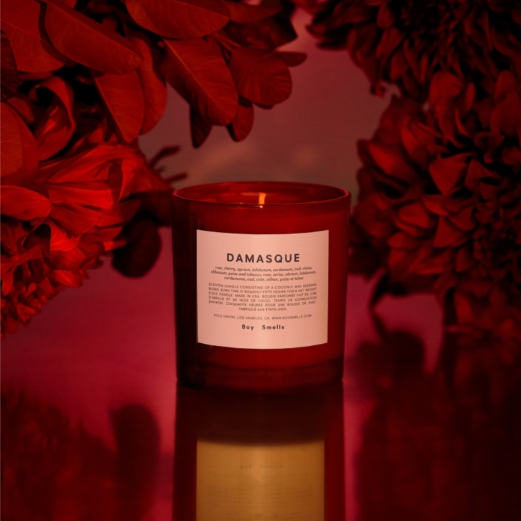 Damasque Scented Candle by Boy Smells