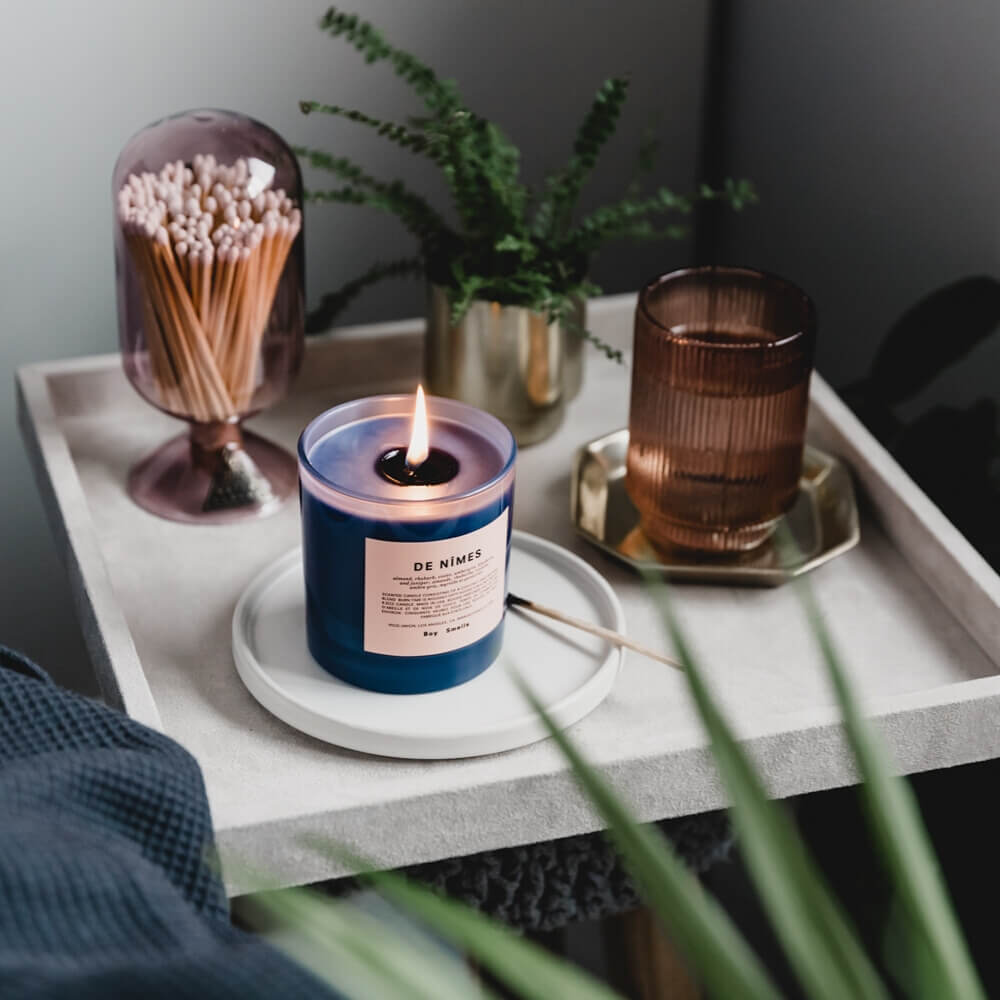 De Nîmes Scented Candle by Boy Smells