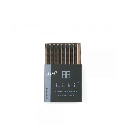Cedar Wood Incense Matches by Hibi