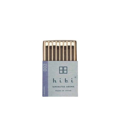 Lavender Incense Matches by Hibi