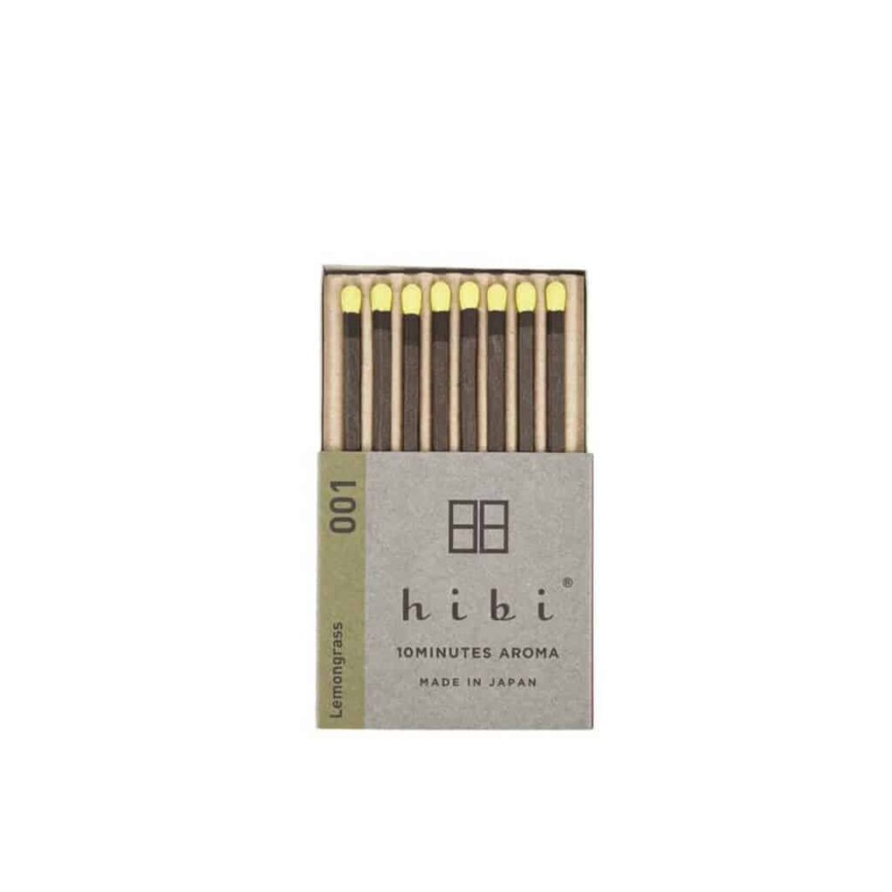 Lemongrass Incense Matches by Hibi