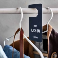 Black Oak Fragrance Tag by L:A Bruket