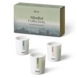 Mindful Scented Candle Gift Set by Aery