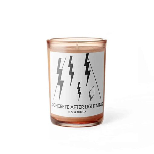 Concrete After Lightening Scented Candle by D.S. & DURGA